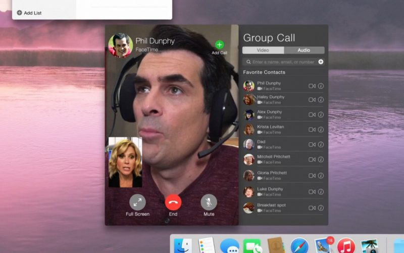 Apple FaceTime – Modern Family (1)