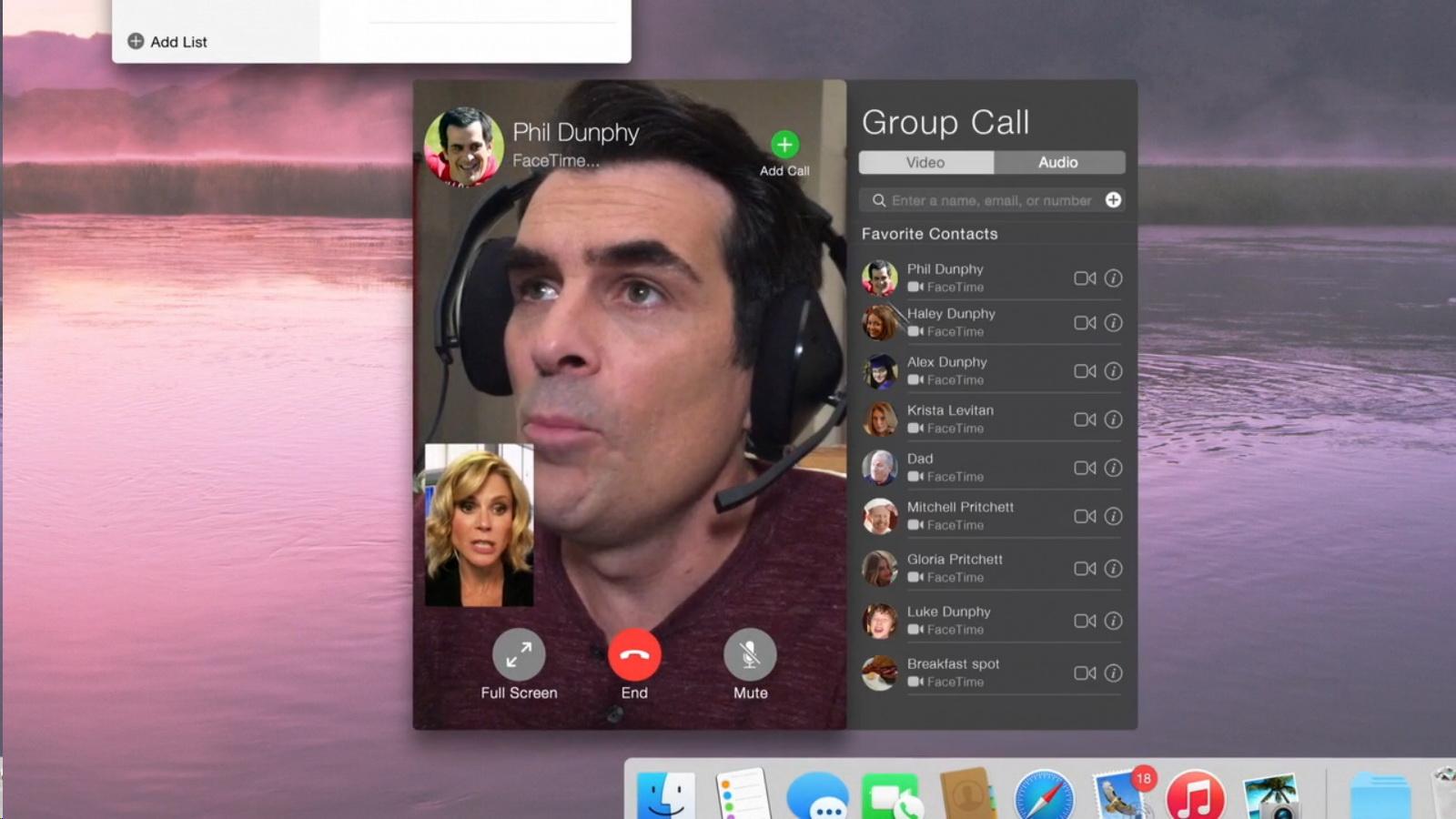 Apple Facetime Modern Family Tv Show Scenes