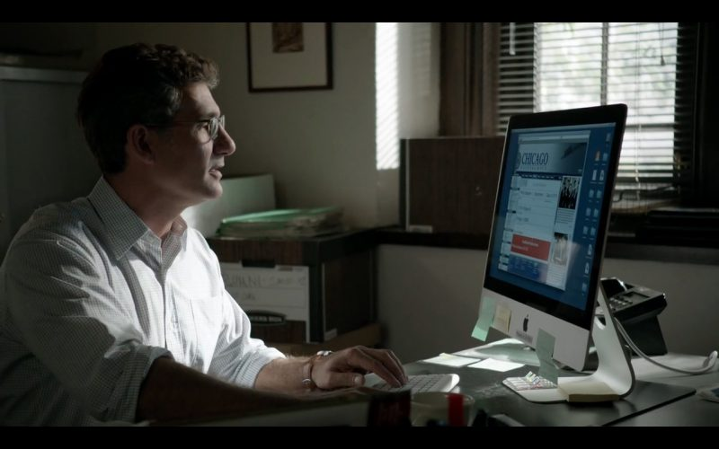 Apple iMac 21,5 - Shameless - TV Show Product Placement