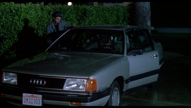 Audi 5000 (C3) Car in License to Drive (1988) - Movie Product Placement