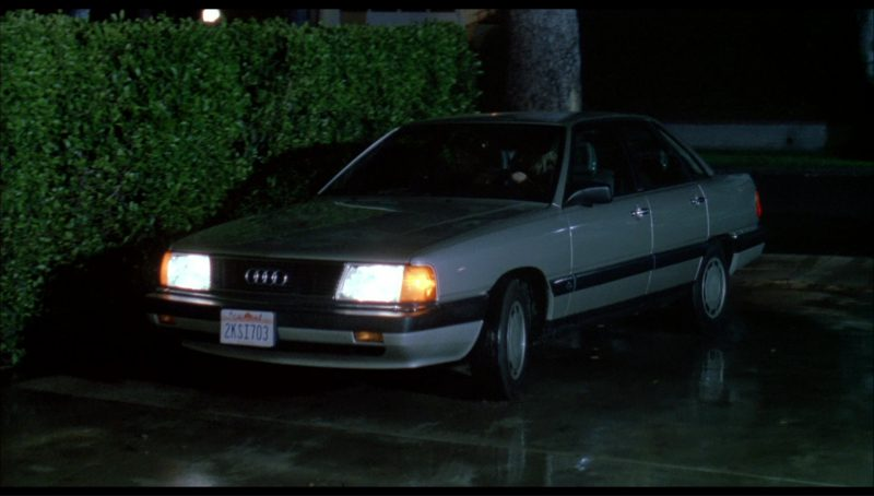 Audi 5000 (C3) Car in License to Drive (1988) Movie Product Placement
