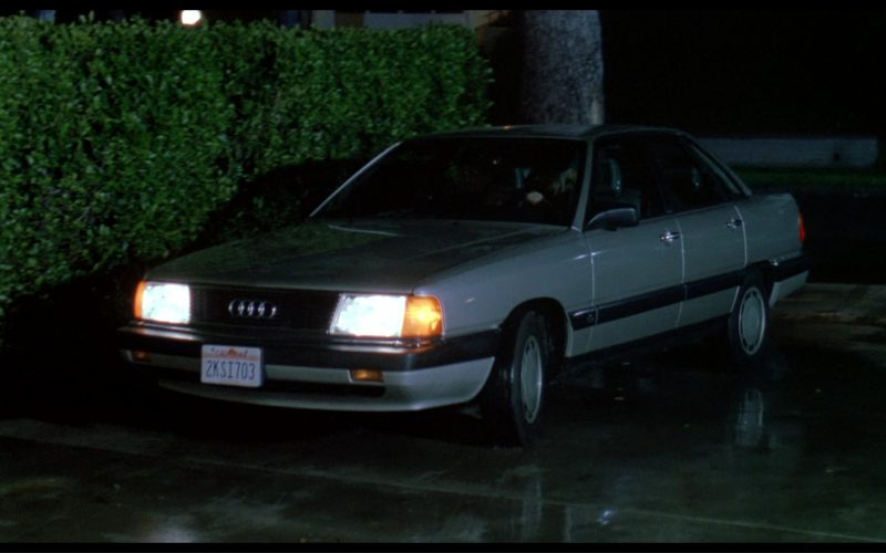 Audi 5000 (C3) Car in License to Drive (4)