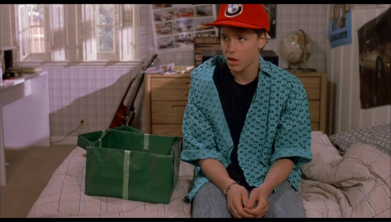 BMW Cap in License to Drive (1988) Movie Product Placement