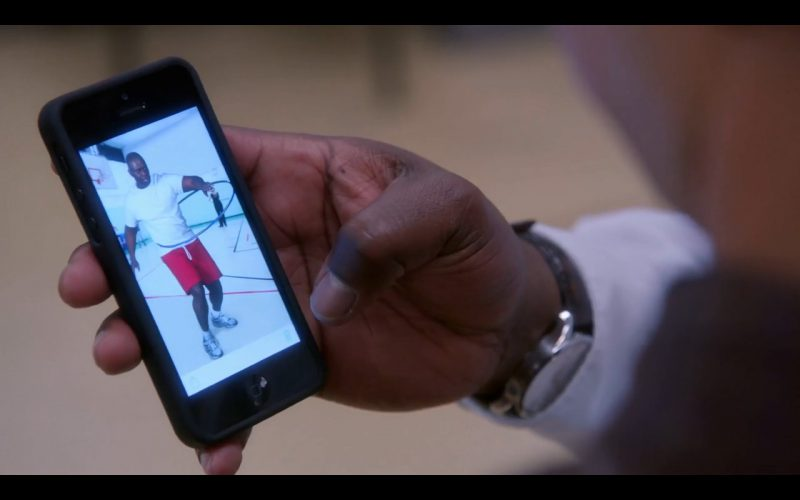 Black Apple iPhone 5/5S - Brooklyn Nine-Nine - TV Show Product Placement