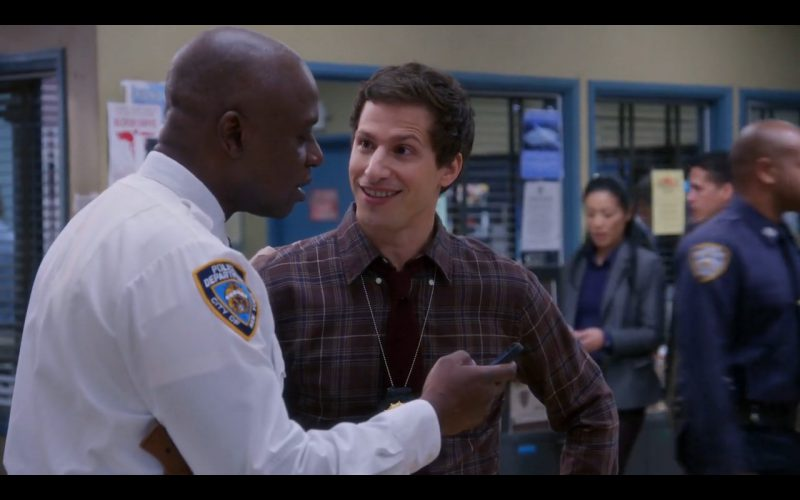 Black Apple iPhone 5/5S - Brooklyn Nine-Nine TV Show Product Placement