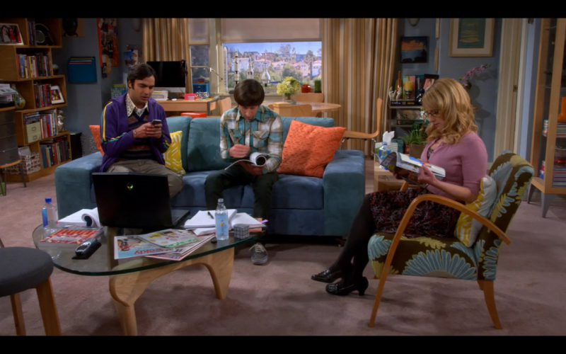 Black DELL Alienware - The Big Bang Theory - TV Show Product Placement