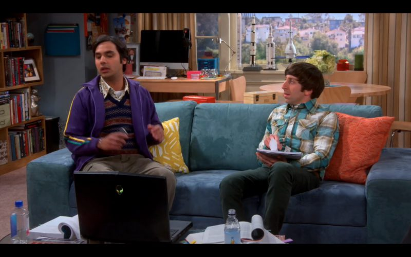 Black DELL Alienware - The Big Bang Theory TV Show
