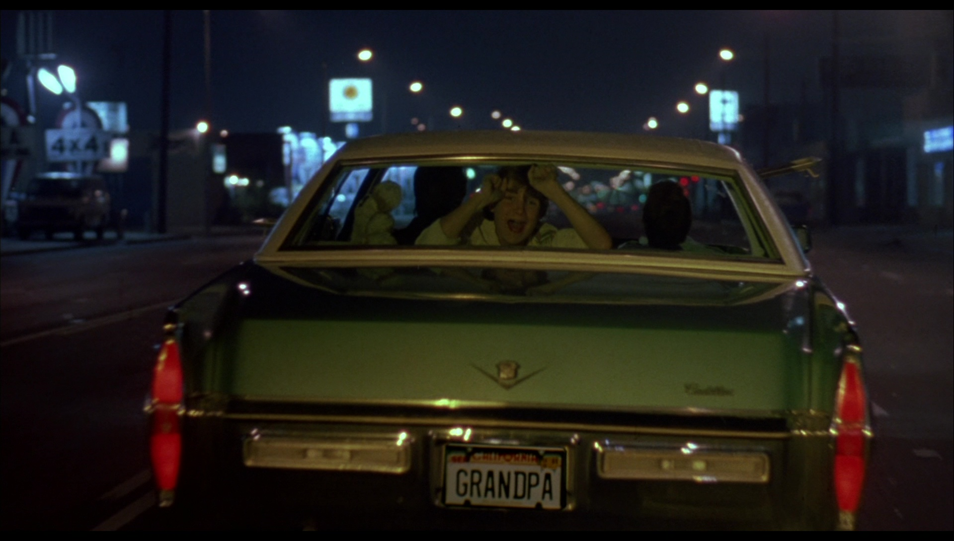 Cadillac Sedan Deville Car In License To Drive 1988 Movie