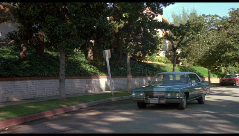 Cadillac Sedan DeVille Car in License to Drive (1988) - Movie Product Placement