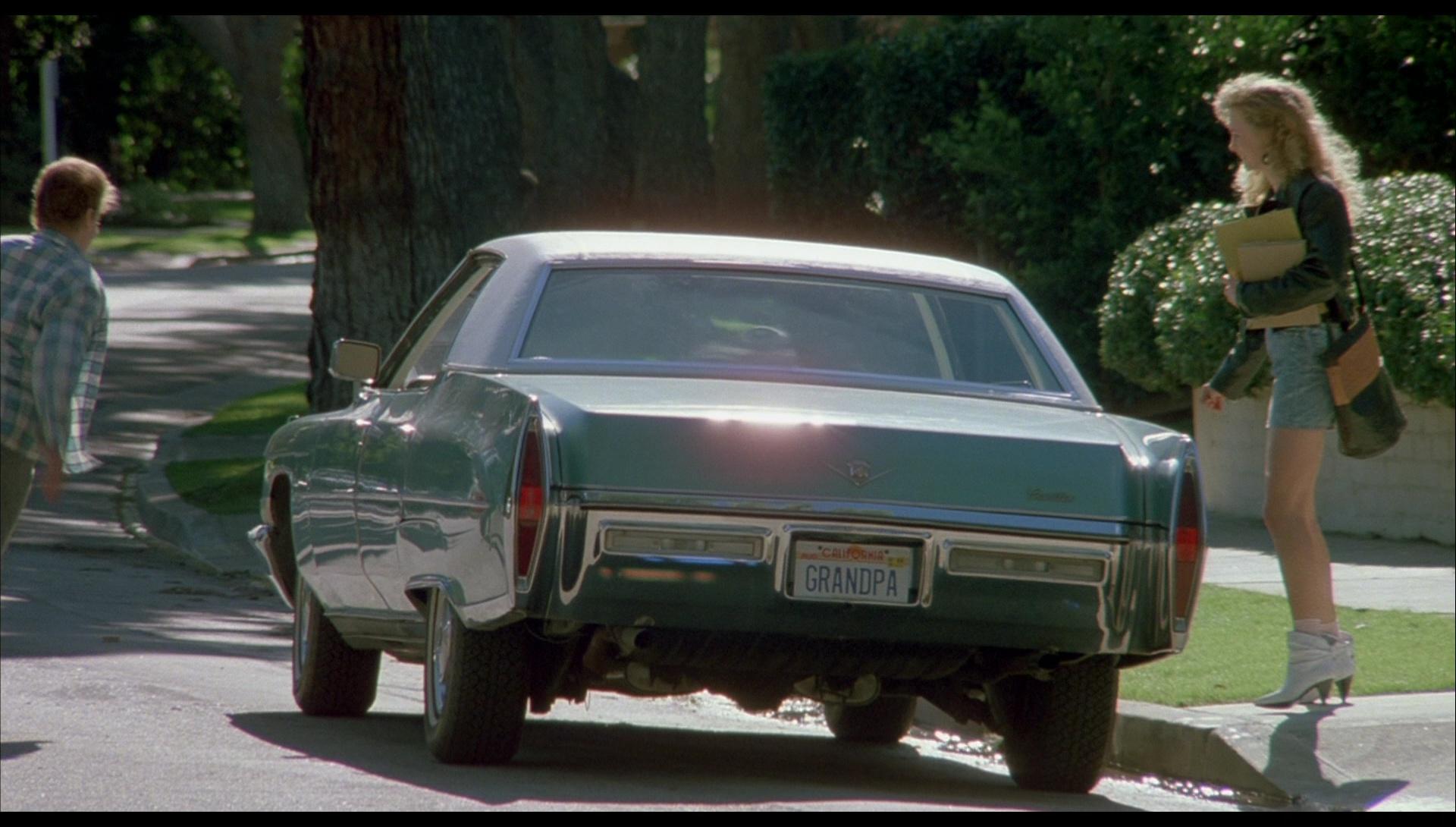 Cadillac Sedan DeVille Car in License to Drive (1988) Movie Scenes