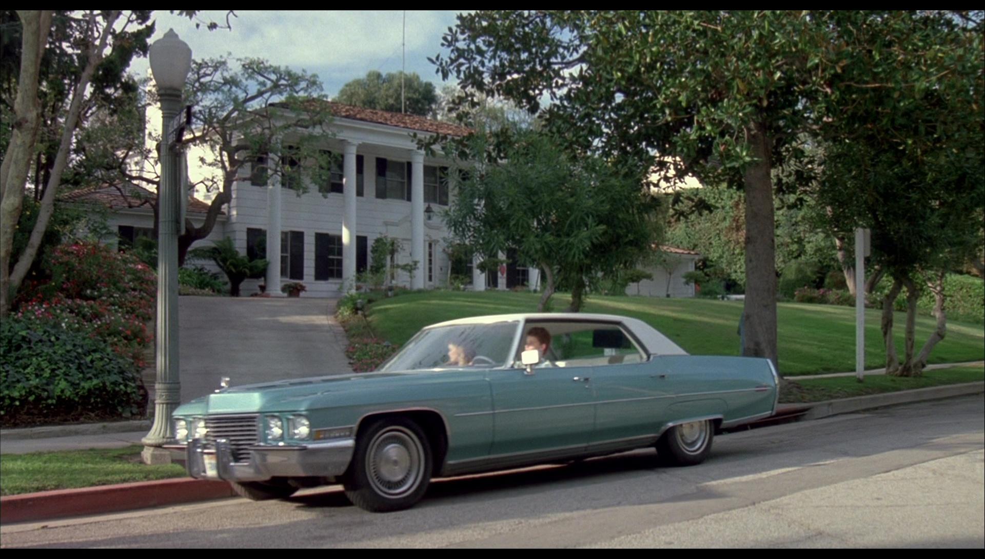 Cadillac Sedan Deville Car In License To Drive