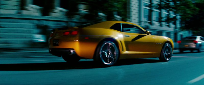 Chevrolet Camaro Car in Transformers: Revenge of the Fallen (2009) Movie Product Placement