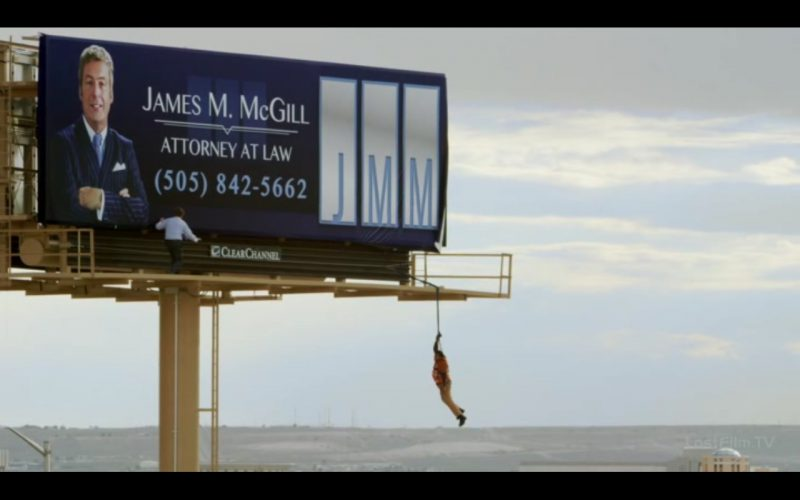 Clear Channel - Better Call Saul - TV Show Product Placement