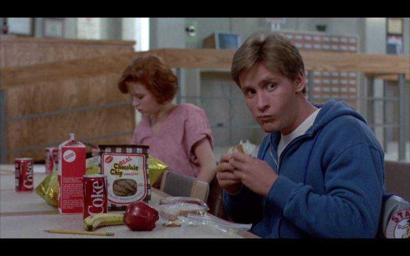 Coca-Cola - The Breakfast Club (1985) - Movie Product Placement
