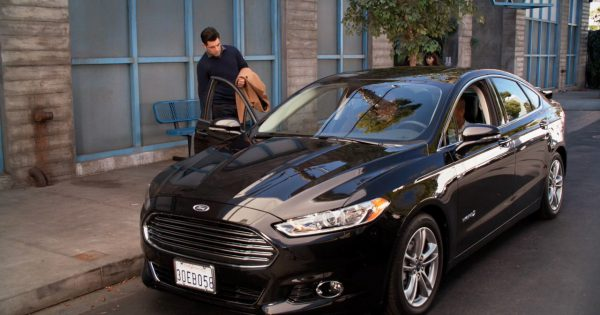 Ford Fusion New Girl Tv Show Scenes