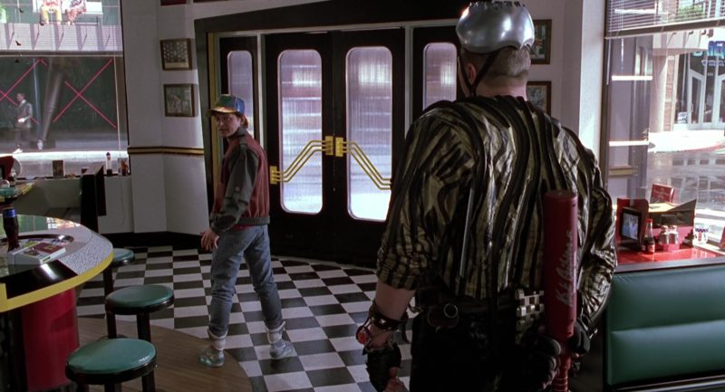 Nike Mag Self-Lacing Sneakers Worn by Michael J. Fox (Marty McFly) in Back to the Future 2 (1989) - Movie Product Placement