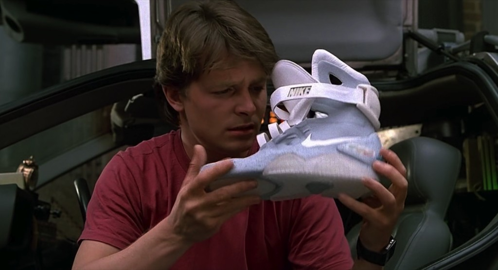 Nike shoes in Back to the Future 2 (1989) Movie Scenes