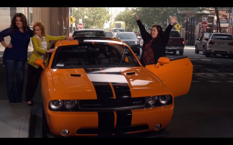 Orange Dodge Challenger SRT (392) – Mike & Molly TV Series