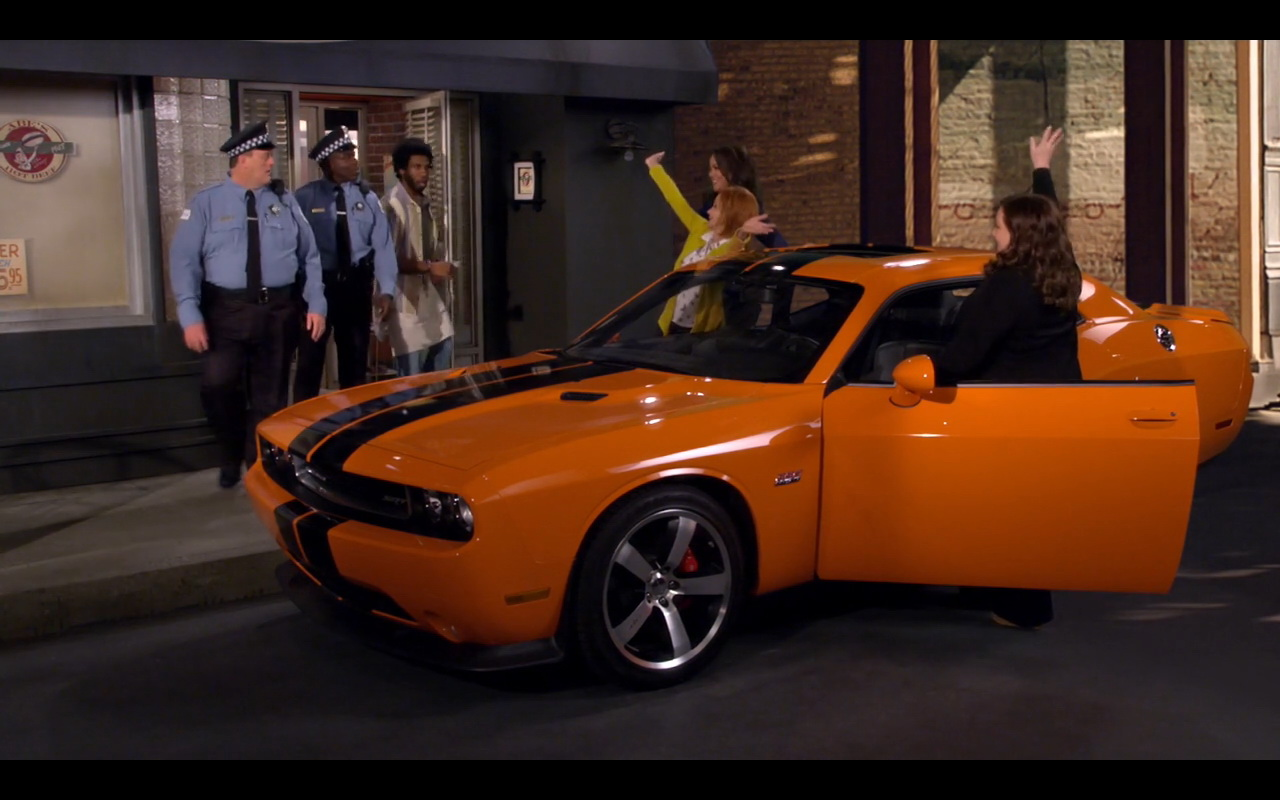 Dodge Challenger Srt Mike Amp Molly Tv Show