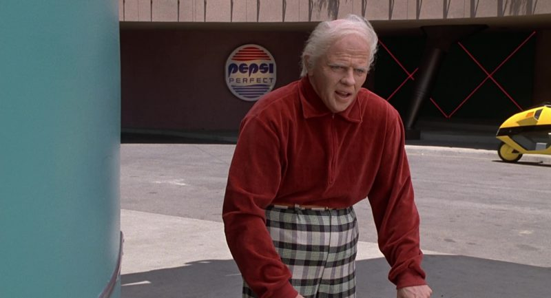 Pepsi Signs in Back to the Future Part II (1989) - Movie Product Placement