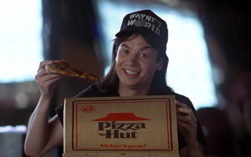 Pizza Hut in Wayne's World (1992)