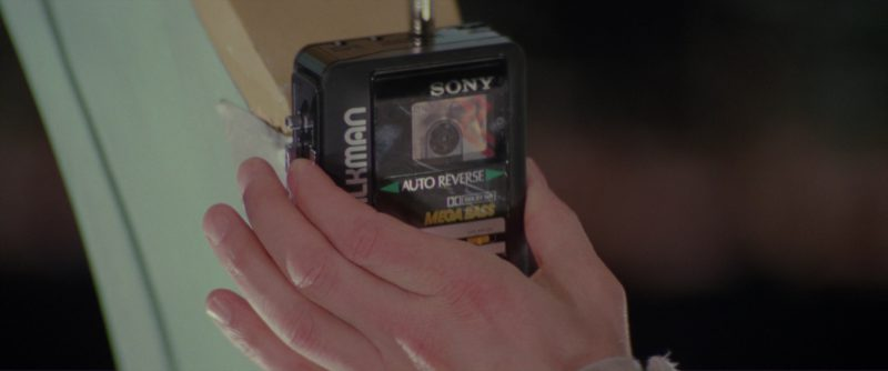 Sony Walkman Cassette Player in Ghostbusters II (1989) - Movie Product Placement