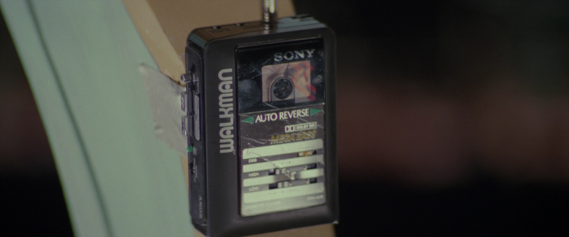 Sony Walkman Cassette Player in Ghostbusters II (1989) Movie