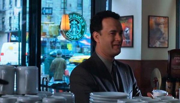 Starbucks in You've Got Mail (1998)