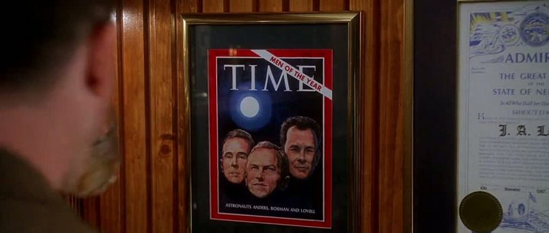 Time Magazine - Apollo 13 (1995) Movie Product Placement