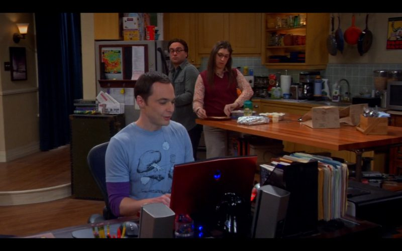 Alienware Laptop - The Big Bang Theory - TV Show Product Placement