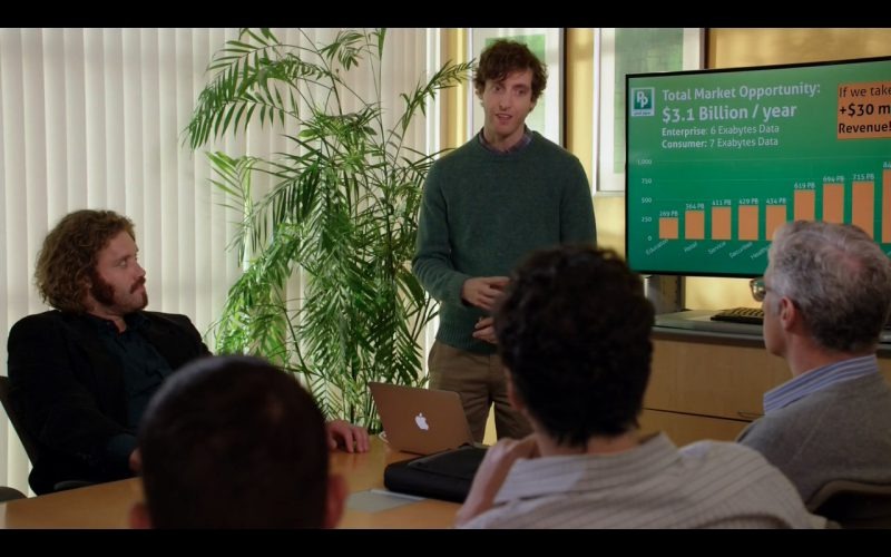 Apple Macbook Air - Silicon Valley - TV Show Product Placement