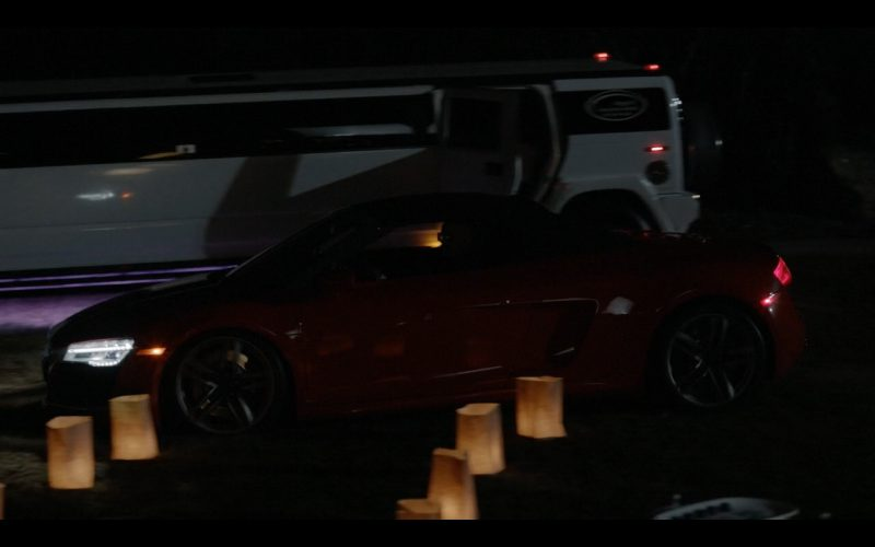 Audi R8  (Red) - The Last Man on Earth TV Show Product Placement