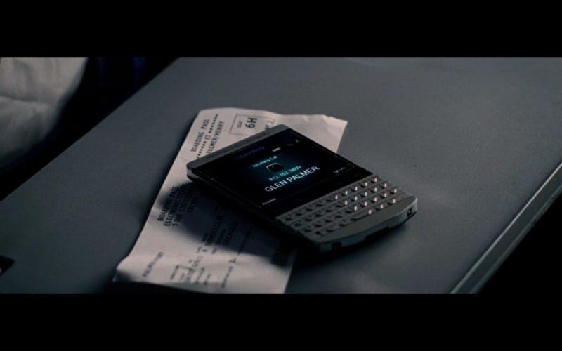 BlackBerry Porsche Design - The Judge (2014) Movie Product Placement