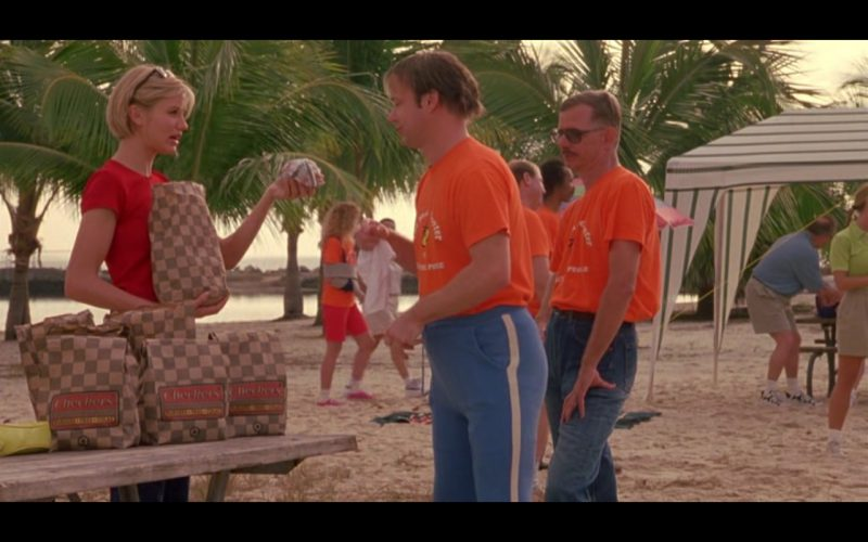 Checkers & Rally's Burger Restaurant - There's Something About Mary (1998) - Movie Product Placement