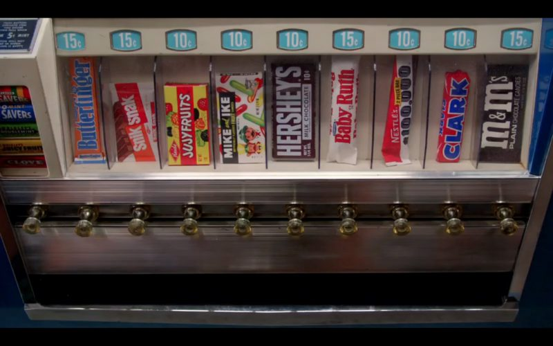 Chocolate, Bubble Gum & Candies - Mad Men TV Show Product Placement