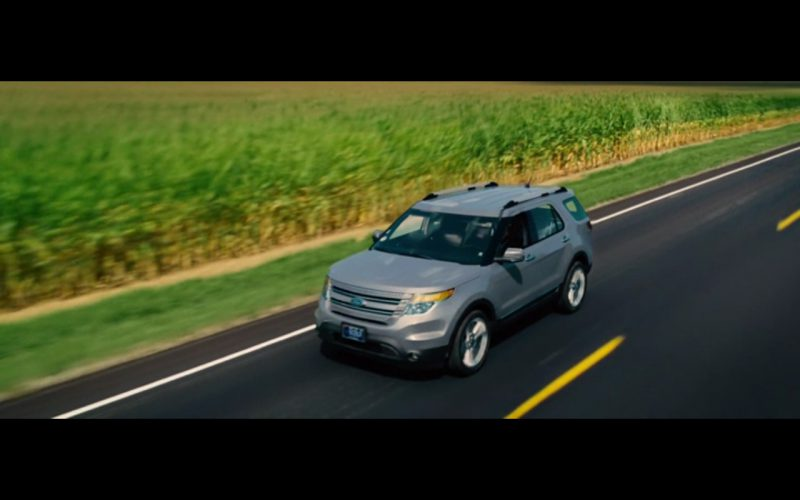 Ford Explorer - The Judge (2014) Movie Product Placement