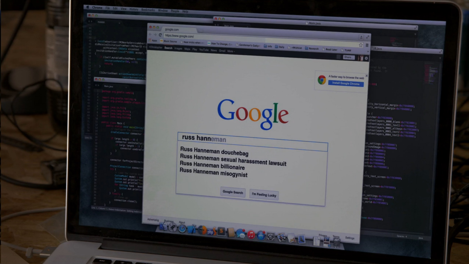 Google Amp Chrome Silicon Valley Tv Show