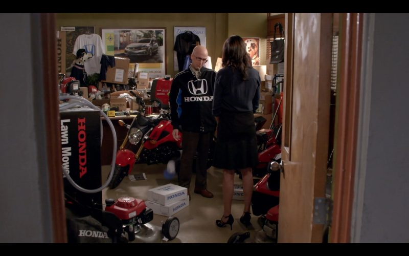 Honda Clothing and Car - Community TV Show Product Placement