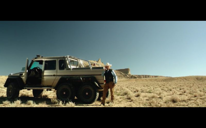 Mercedes-Benz G 63 AMG 6X6 - Beyond the Reach (2014) - Movie Product Placement