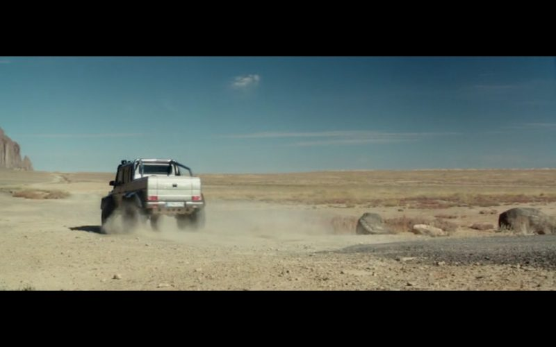 Mercedes-Benz G 63 AMG 6X6 - Beyond the Reach (2014) Movie Product Placement