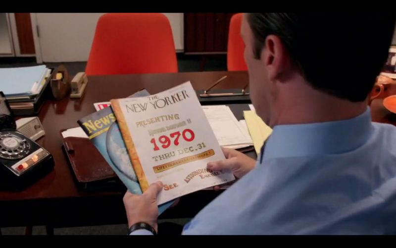 Newsweek, Life & The New Yorker - Mad Men TV Show Product Placement