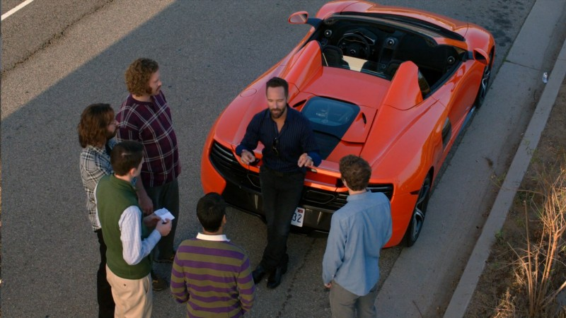 McLaren 650S - Silicon Valley TV Show Product Placement