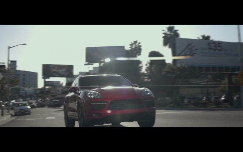 Porsche Cayenne Turbo – The Gambler (2014) Movie Product Placement