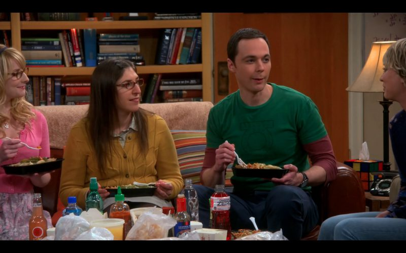 Powerade Zero – The Big Bang Theory TV Show Product Placement