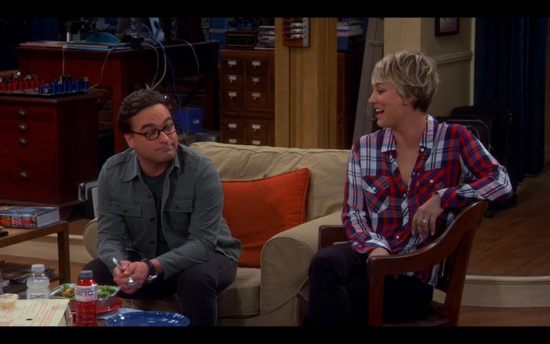 Powerade Zero - The Big Bang Theory - TV Show Product Placement