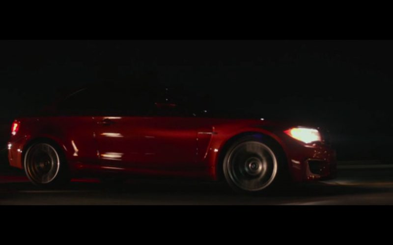 Red BMW M1 – The Gambler (2014) 1