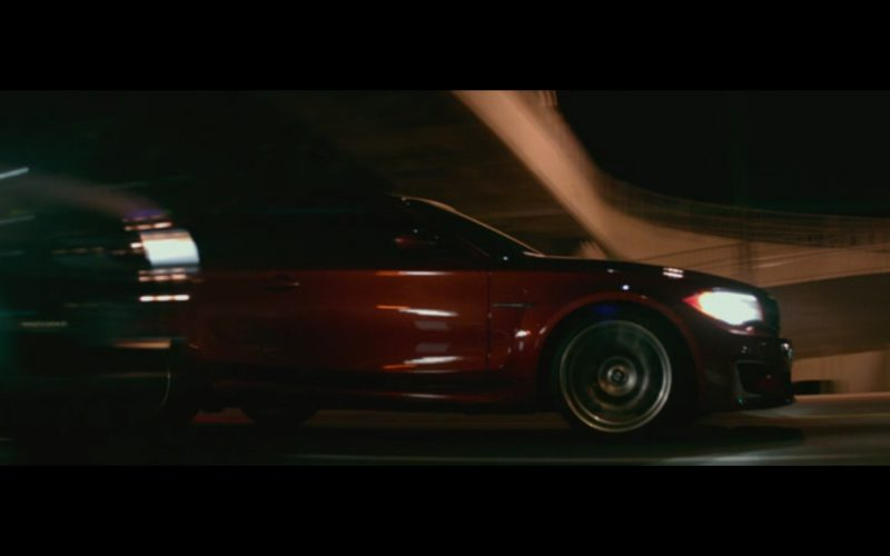Red BMW M1 – The Gambler (2014) 4