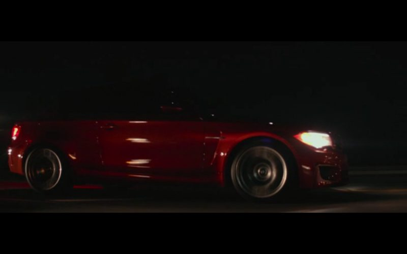 Red BMW M1 – The Gambler (2014) 5