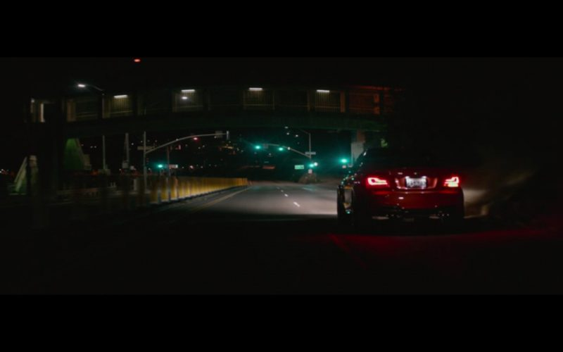 Red BMW M1 – The Gambler (2014) Movie Product Placement