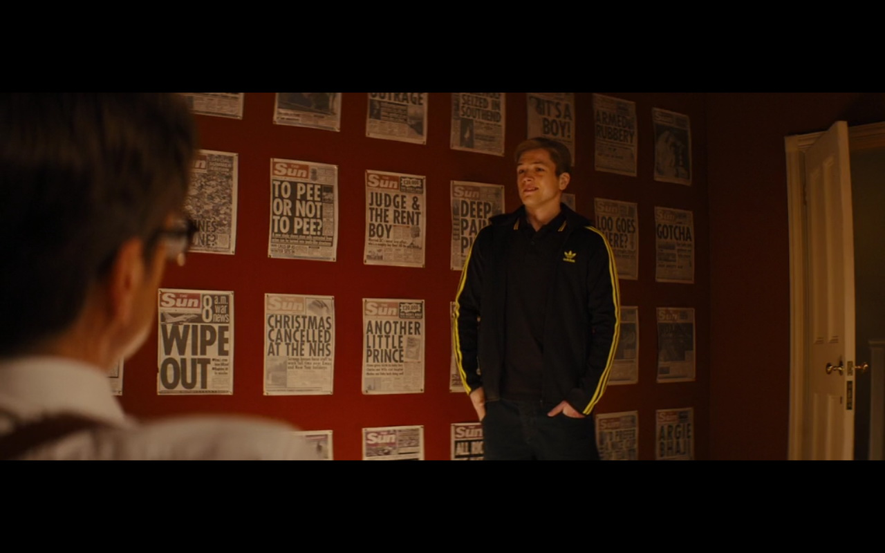 Adidas Jackets Kingsman: The Secret Service (2014) Movie